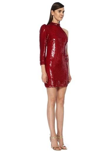 Allen Schwartz Elbise Kırmızı